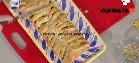 La Prova del Cuoco - Strudel salato ricetta Anna Moroni