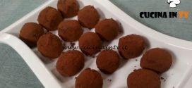 Cotto e mangiato - Tartufi al cioccolato ricetta Tessa Gelisio