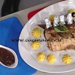 La Prova del Cuoco - Carré di maiale alle prugne ricetta Luisanna Messeri
