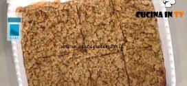 La Prova del Cuoco - Crumble di mele ricetta Margherita Granbassi
