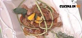 La Prova del Cuoco - ricetta Fagiano con funghi lampascioni pomodorini e cardi