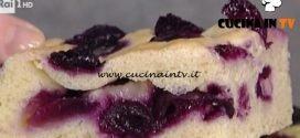 La Prova del Cuoco - ricetta Focaccia all'uva
