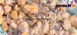 La Prova del Cuoco - Gnocchi di zucca con sugo alla norcina ricetta Anna Moroni