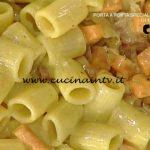 La Prova del Cuoco - Mezze maniche con zucca croccante speck e curry ricetta Daniele Persegani