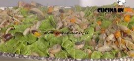 La Prova del Cuoco - Pappardelle verdi con funghi e castagne ricetta Alessandra Spisni