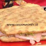 La Prova del Cuoco - Pizza farcita con puntarelle e mortadella ricetta Gabriele Bonci