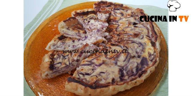 Cotto e mangiato - Quiche alle cipolle rosse di Tropea ricetta Tessa Gelisio