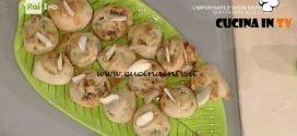 La Prova del Cuoco - Rotolini con pere noci e gorgonzola ricetta Anna Moroni