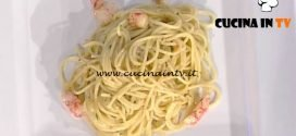 La Prova del Cuoco - Spaghetti aglio olio e peperoncino con gamberi rossi ricetta Gianfranco Pascucci