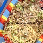 La Prova del Cuoco - Spaghetti con verdure croccanti ricetta Hirohiko Shoda
