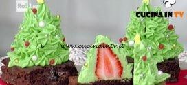 La Prova del Cuoco - ricetta Alberelli di fragola e cioccolato