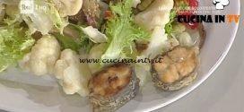 La Prova del Cuoco - Capitone fritto con insalata di rinforzo ricetta Anna Serpe