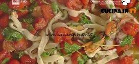 La Prova del Cuoco - Scialatielli ai frutti di mare ricetta Anna Serpe