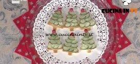 La Prova del Cuoco - ricetta Tartine di Natale