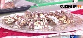 La Prova del Cuoco - Torrone morbido al cioccolato ricetta Daniele Persegani