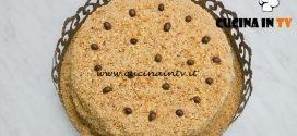 Bake Off Italia 4 - ricetta Torta con farina di nocciole caffè e crema al cioccolato di Luca