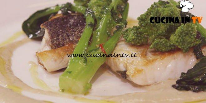 Cucine da incubo - Branzino con vongole e cime di rapa ricetta Antonino Cannavacciuolo