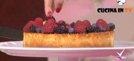 Detto Fatto - Cheesecake di nonna Pina ricetta Gianluca Forino