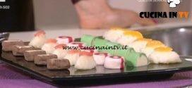 Detto Fatto - Chocolate sushi ricetta Mirco Della Vecchia