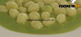 Cucine da incubo - Crema di piselli con gnocchetti di ricotta ricetta Antonino Cannavacciuolo