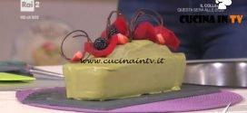 Detto Fatto - Plumcake al the matcha ricetta Matteo Manzotti