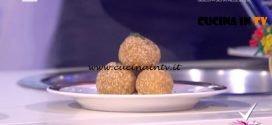 Detto Fatto - Polpette di panelle e alle sarde a beccafico ricetta Dario Tornatore