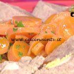 La Prova del Cuoco - Polpettone con carote al burro ricetta Alessandra Spisni