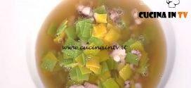 La Prova del Cuoco - Quadrucci in brodo di pesce ricetta Gianfranco Pascucci