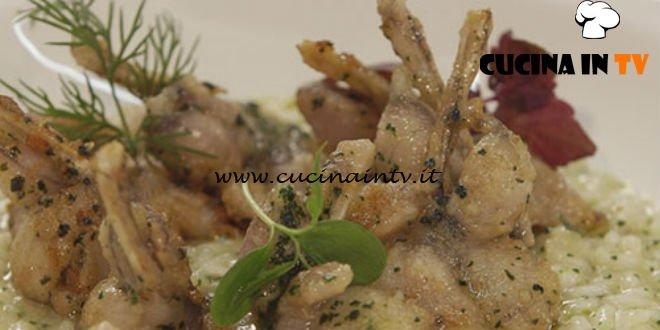 Cucine Da Incubo Risotto Con Le Rane Ricetta Chef Cannavacciuolo