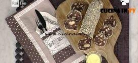 La Prova del Cuoco - ricetta Salame al cioccolato