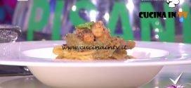Detto Fatto - Spaghettoni con carciofi e gamberi ricetta Fabio Pisani
