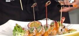 La Prova del Cuoco - Sushi facile ricetta Ricardo Takamitsu