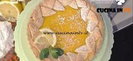 La Prova del Cuoco - Torta con crema al limone ricetta Natalia Cattelani
