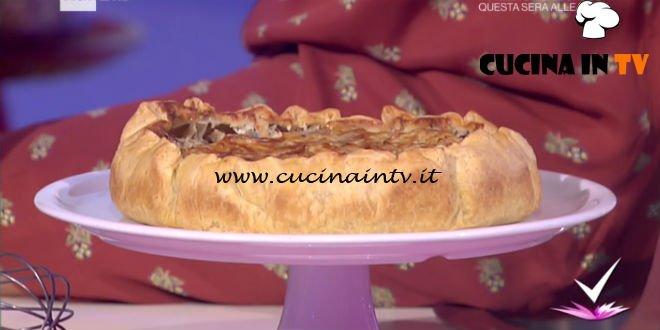 Detto Fatto - Torta integrale di cardi e topinambur ricetta Paola Galloni