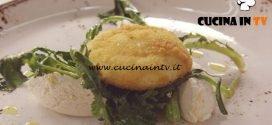 Cucine da incubo - Uovo pochè con ricotta e verdure ricetta Antonino Cannavacciuolo