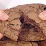 La Prova del Cuoco - ricetta Biscotti al triplo cioccolato