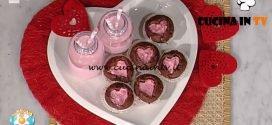 La Prova del Cuoco - ricetta Cupcake dal cuore rosa