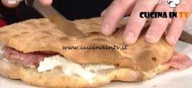 La Prova del Cuoco - Focaccia farcita con spalla cotta ricetta Gabriele Bonci
