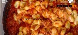La Prova del Cuoco - Gnocchi con sugo all'amatriciana ricetta Anna Moroni