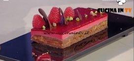 La Prova del Cuoco - Mousse al cioccolato e lamponi ricetta Guido Castagna