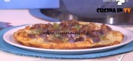 Detto Fatto - Pizza con patate viola gorgonzola e scalogno ricetta Gianfranco Iervolino