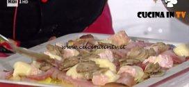 La Prova del Cuoco - Pizza patate pancetta arrotolata e funghi ricetta Gabriele Bonci