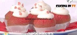 La Prova del Cuoco - ricetta Red velvet muffin
