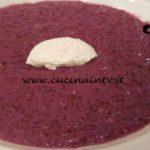 Cotto e mangiato - Risotto con carote viola e quenelle di robiola ricetta Tessa Gelisio