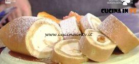 La Prova del Cuoco - Rollata con cuore di panna al caramello ricetta Sergio Barzetti