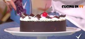 Detto Fatto - Torta foresta nera ricetta Michel Paquier