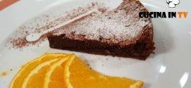 Cotto e mangiato - Torta tenerina rivisitata all'arancia ricetta Tessa Gelisio