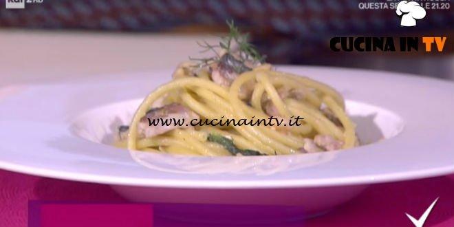 Detto Fatto - Bucatini con le sarde ricetta Davide Rossi