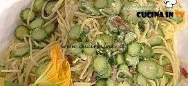 La Prova del Cuoco - Spaghetti alla carbonara vegetale ricetta Luisanna Messeri