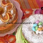 La Prova del Cuoco - Chiffon Cake all'arancia ricetta Natalia Cattelani